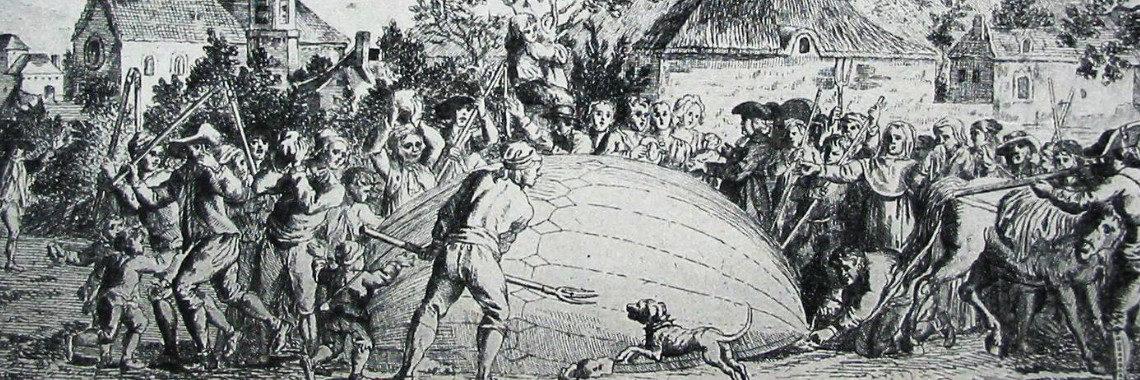 Le 1er ballon à hydrogène